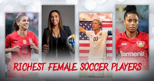 top 10 richest female soccer players in