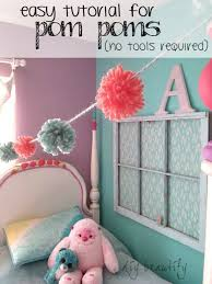 fabulous tutorial for pom poms no special tools required diy beautify