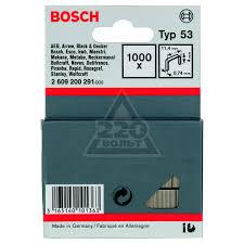 <b>Скоба для степлера</b> тип 53 (11.4 мм) <b>BOSCH</b> купить по доступной ...