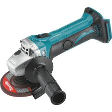cordless grinder. makita xag01z 18v lxt lithium-ion cordless cut-off/angle grinder y
