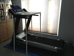 diy treadmill desk under 50 no tools required step by step instructions