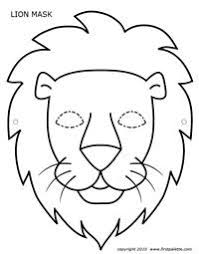 lion face drawing for kids. Plain Face Construction Paper Lion Heads  Inspired Class And Face Drawing For Kids A