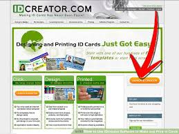 And 13 Cards Print Steps Make Idcreator To Software Use Id How