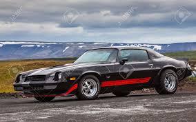 Iceland - July 11, 2015 : 1978 Chevrolet Camaro Z28 At Drag Racing ...
