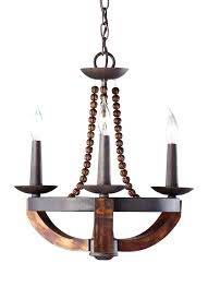 rustic wood and metal chandelier with intricate french country
