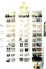 shoe organizer storage closet floor rack design 8 cube white closetmaid espresso compartment