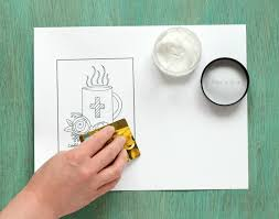 Small Picture PitterAndGlink How to Prep Coloring Pages for Paint A Free