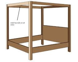 4 poster bed plans. Contemporary Bed Plan 4poster Bed And 4 Poster Bed Plans E