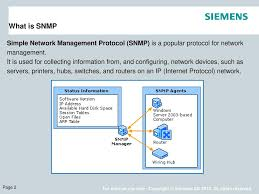 What Is Snmp Released For Field Test Training Ppt Download