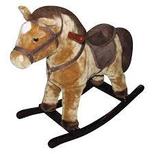 kidkraft derby wooden rocking horse hayneedle