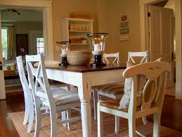 Dining Room Accent Furniture Cream Painted Dining Table And Chairs Archives Gt Kitchen Furniture