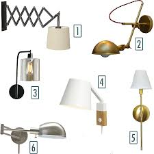 Bedside sconce lighting Pulley Wall Some Of My Favorite Options For Bedside Sconces Maromadesign Happy Fourth Of July Let There Be Light Little House Big City