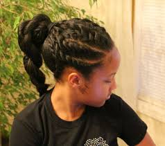 Natural Hairstyles Ponytails Flat Twist Ponytail Hairstyles Beautiful Long Hairstyle