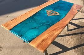 Tisch Holz Epoxy Gallery Massivholzmöbel Holz Tisch Dastek Gmbh