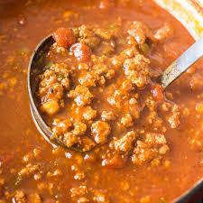 easy keto chili low carb no bean