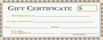 Gift Certificate Template Word Letter Of Intent Template Uk Free