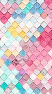 Pattern Wallpaper Iphone Inspiration Colorful Roof Tiles Pattern IPhone 48 Wallpaper IPhone 48