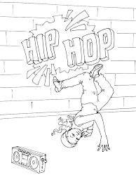 Coloriage Danse Hip Hop A Imprimer L Duilawyerlosangeles