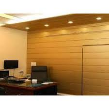 Office wall panels interior Clad Wall Wooden Modern Office Wall Panel Indiamart Wooden Modern Office Wall Panel Rs 270 piece Ms Noor Interior