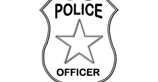 Small Picture Police Badge Coloring Mounty Gekimoe 28675