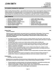 Accounting Coordinator Resume Template Premium Resume Samples