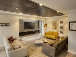 ... Large Size of Living Room:wooden Floor Minimalist Scatter Cushions  Spotlights Alcove Ceiling Parquet Pendant ...
