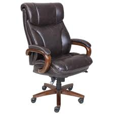 la z boy tafford vino bonded leather executive office chair 45782 the home depot