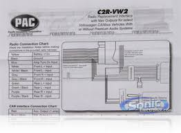 pac cr vw crvw volkswagen radio replacement interface product pac c2r vw2