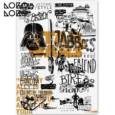 Best Star Wars Quotes 92 Wonderful Typographic Poster Star Wars 24 Lokoloko
