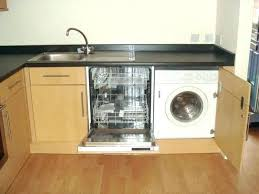 gap between dishwasher and under sink 2 dishwashers the installing air countertop