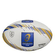 Gilbert Rugby Size Chart Champions Cup Rugby Supporters Ball White Blue Gold Sz 5 White Blue Gold
