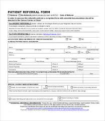 Referral Form Templates Physician Referral Form Template Ohye Mcpgroup Co