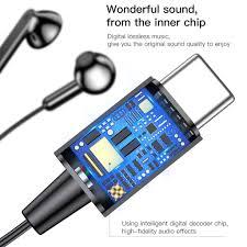 <b>Baseus Encok C16</b> 1.2m USB-C/Type-C <b>Wire</b> Control Smart ...