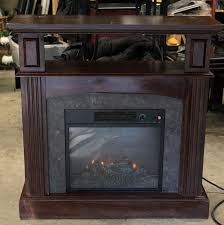 36 wide prokonian electric fireplace sp18 1705 led space room heater