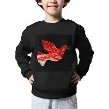 Amazon Com The Kids Ruby Peace Dove Sweater Warm Long