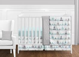 girl uni crib bedding set