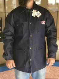 Ben Davis Lined Blue Denim Jacket Coat In 2019 Jackets