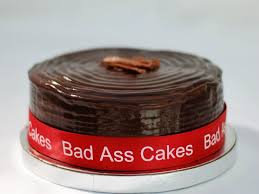 Jamaican Rum Cake by Bad Ass Cakes