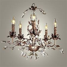 40 60 vintage candle style antique brass metal chandeliers bedroom