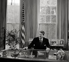 roosevelt oval office desk photo courtesy jay. President Ronald Reagan At His Desk In The Oval Office (Library Of Congress) Roosevelt Photo Courtesy Jay A
