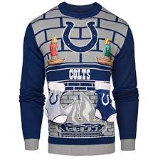 Mens Amazon - Sports Outdoors amp; 3d com Sweater Colts Ugly Small Indianapolis