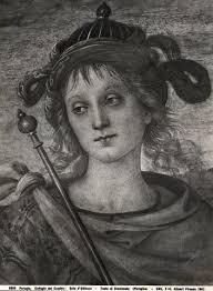Vannucci Pietro , Fortezza e Temperanza con Lucio Sicinio, Leonida, Orazio Coclide, Scipione, Pericle, Cincinnato - 50948