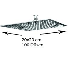 Grafner Edelstahl Duschkopf 20x20 Cm Regendusche