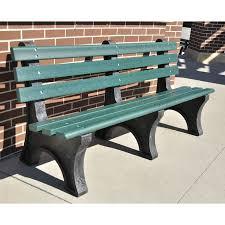 Jayhawk Plastics mercial Recycled Plastic Central Park Bench