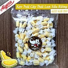 Kẹo trái cây Thái Lan vị Sầu Riêng 300g - Bán sỉ bánh kẹo Thái Lan