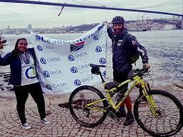 Foto's] Ivan Zimmerman weer terug in SA ná reis van 12 000 km | Maroela  Media