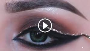 video tutorial of cute makeup tips for eyes