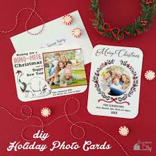 create your own christmas cards free printable create your own christmas photo card with this easy tutorial