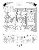 Gioco Dei Labirinti Giochi Per Bambini Di Enigmistica Gratis