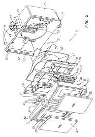 patent usre37642 air heater angled ptc heaters producing patent drawing
